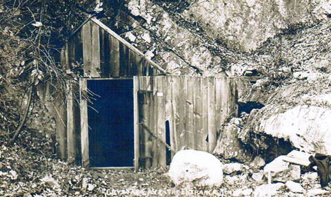 Crystal Cave Entrance 1872