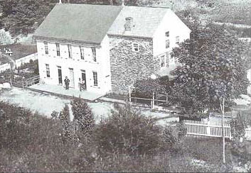 Historic Inn Construction 1874