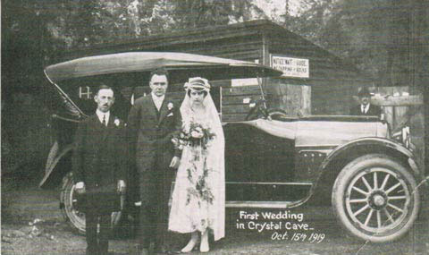 First Cave Wedding 1919